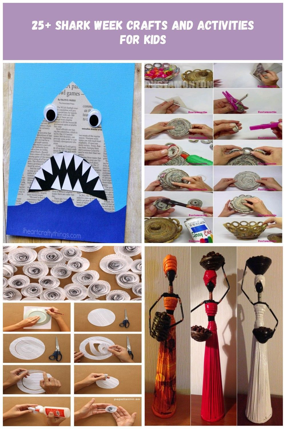 25+ Awesome Shark Week Crafts and Activities for Kids, Over 30 Shark Week Activities, free printables, Shark Theme Party ideas, Shark Week Food, Shark Crafts, Games & more #sharkweek #sharkcrafts #sharkweekactivities #sharktheme #oceantheme #kindergarten #preschool newspaper crafts 25+ Shark Week Crafts and Activities for Kids #sharkweekfood 25+ Awesome Shark Week Crafts and Activities for Kids, Over 30 Shark Week Activities, free printables, Shark Theme Party ideas, Shark Week Food, Shark Craft #sharkweekfood