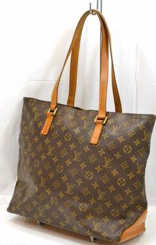 2f364e88a91 Cabas Mezzo Brown Shoulder Bag | Craving: Louis Vuitton | Bags ...
