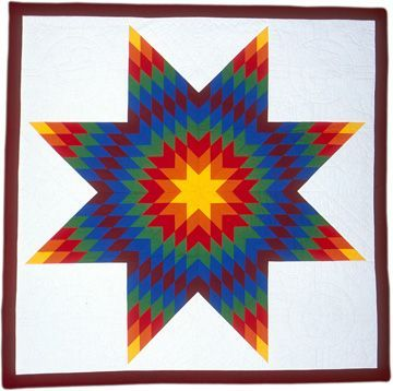 Native American Star Quilts Indian And Native Hawaiian Quilt
