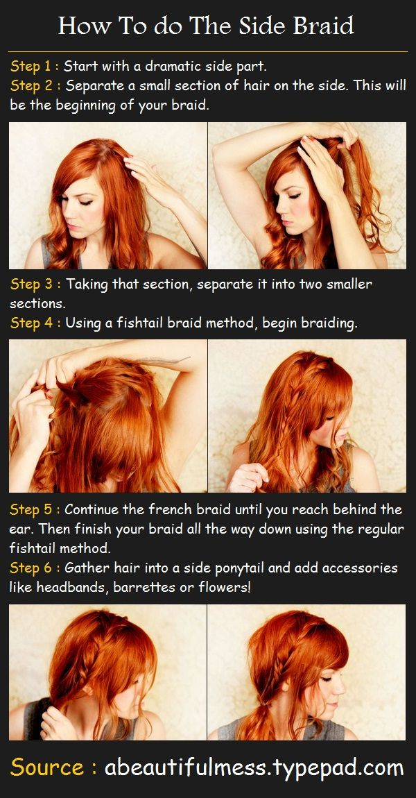 The Side Braid Hairstyle | Beauty Tutorials
