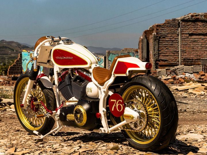 Harley-Davidson Fat Boy Cafe Racer by Lord Drake Kustoms ¡WOW ...