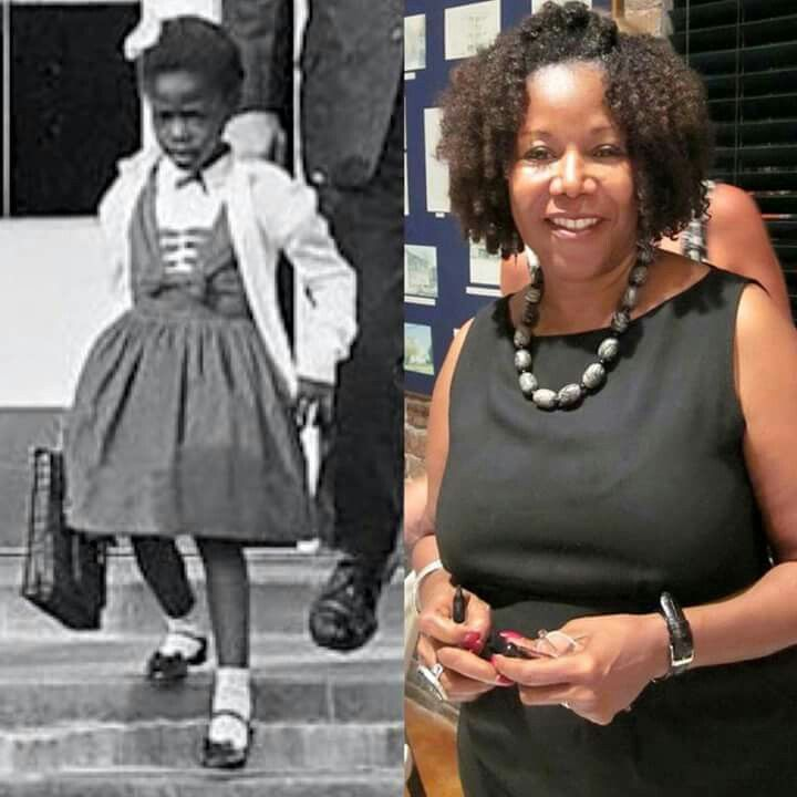 Ruby Bridges On The Left In 1960 Ruby Bridges Hall On The