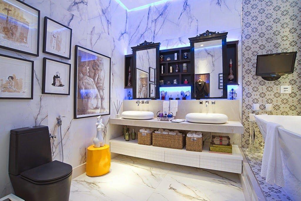 40 Bancadas de banheiros lavabos u2013 veja modelos modernos e