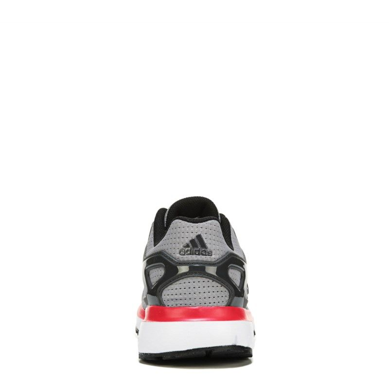09c7f4f97 Adidas Men s Energy Cloud Running Shoes (Grey Red) - 10.5 D