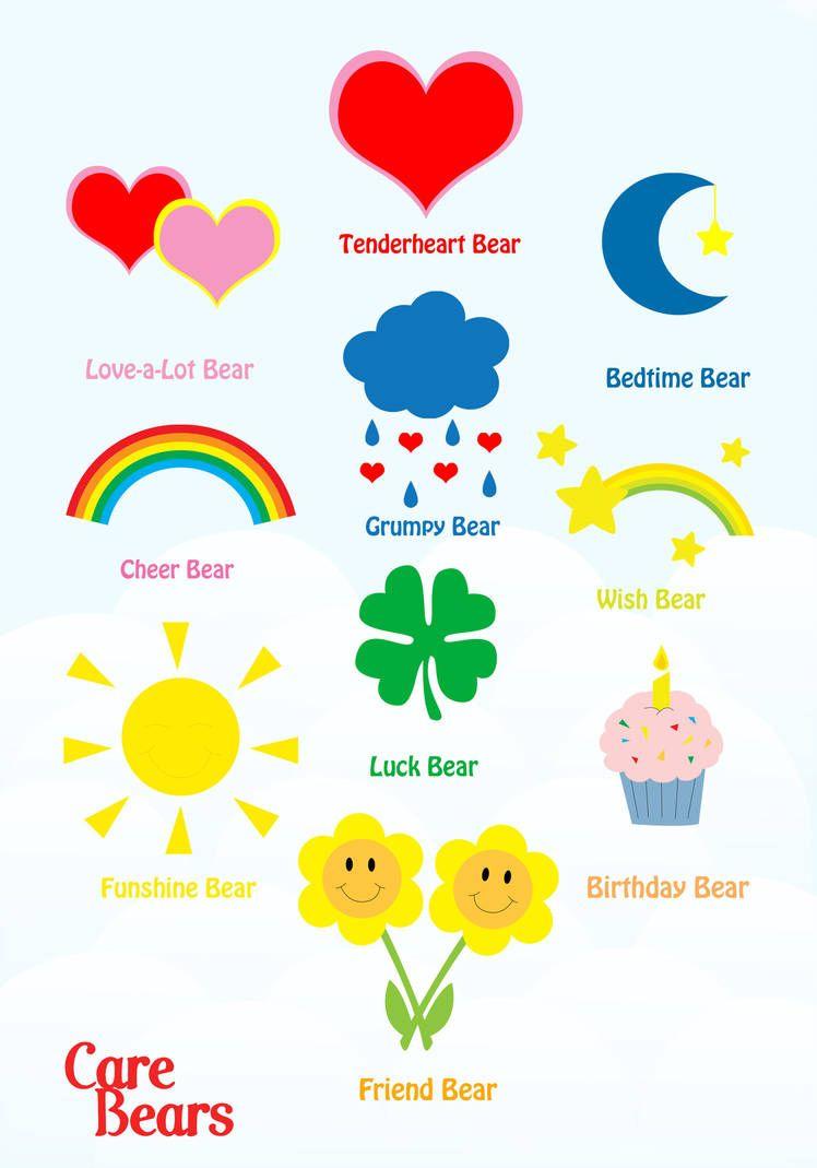 Care Bears Original 10 by jenhamlin #carebearcostume