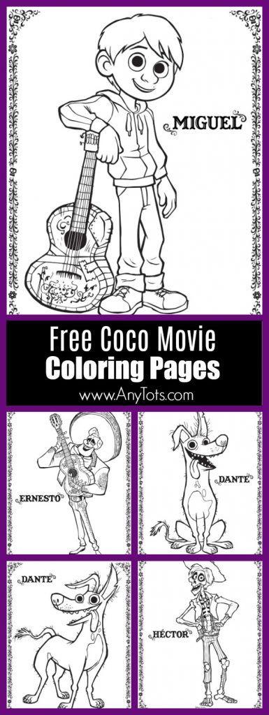 22 Free Disney Pixar 39 s Coco Coloring