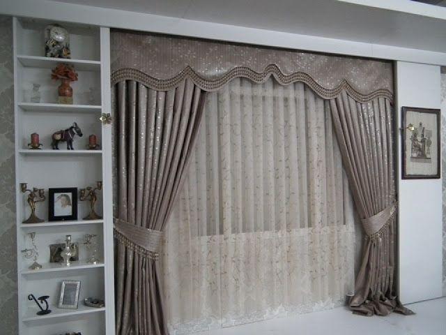 yeni 2013 fon perde modelleri elif perde fensterdekorationen pinterest gardinen fenster. Black Bedroom Furniture Sets. Home Design Ideas