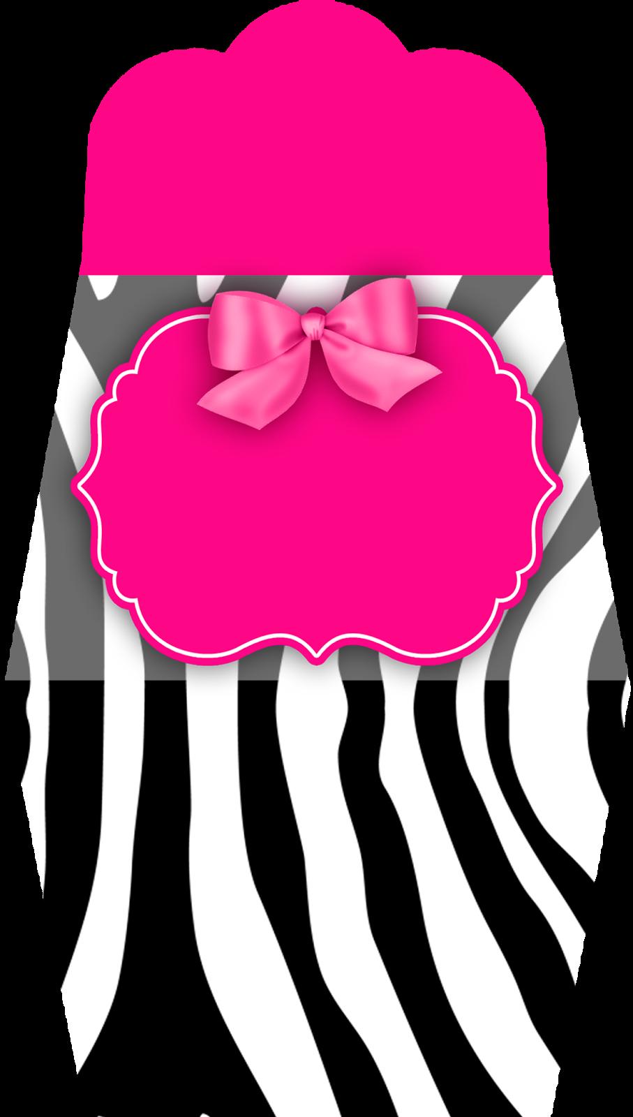 Montando minha festa: Zebra rosa e preto   Zebra e rosa   Pinterest