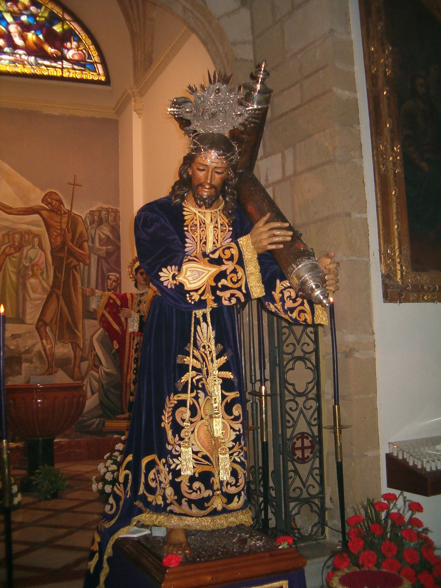 besapie de la cofradia de Jesús Nazareno de Martos