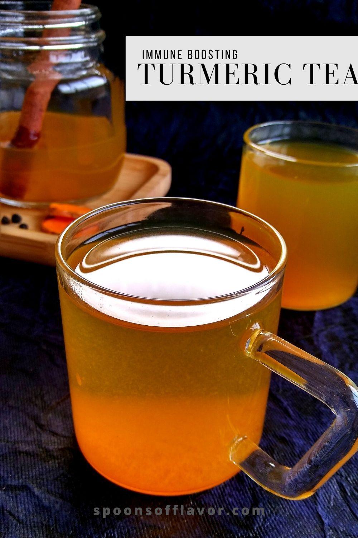 Ginger Turmeric Root Tea Vegan Richa Recipe Ginger Turmeric Turmeric Drink Fruit Vegetable Smoothie