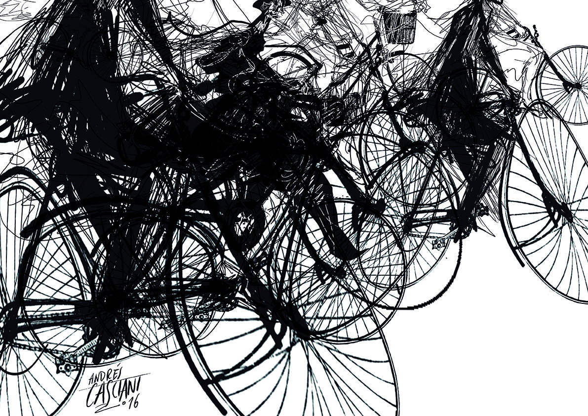 """""""Los hijos de los días"""" - Galeano ilustrado por Casciani 19/6 - acá podés leer el texto:http://andrescasciani.blogspot.com.ar/2016/06/los-hijos-de-los-dias-galeano-ilustrado_19.html"""