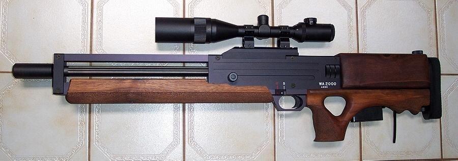 Walther WA 2000 sniper rifle. Looks kinda cool | Sniper ...