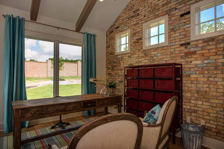 Timeless modern farmhouse with elegantchic interiors in