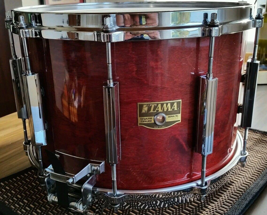 9x14 Aw219d Birch Snare Rare Size Artstar Granstar Cherry Wine Snare Tama Snare Drum