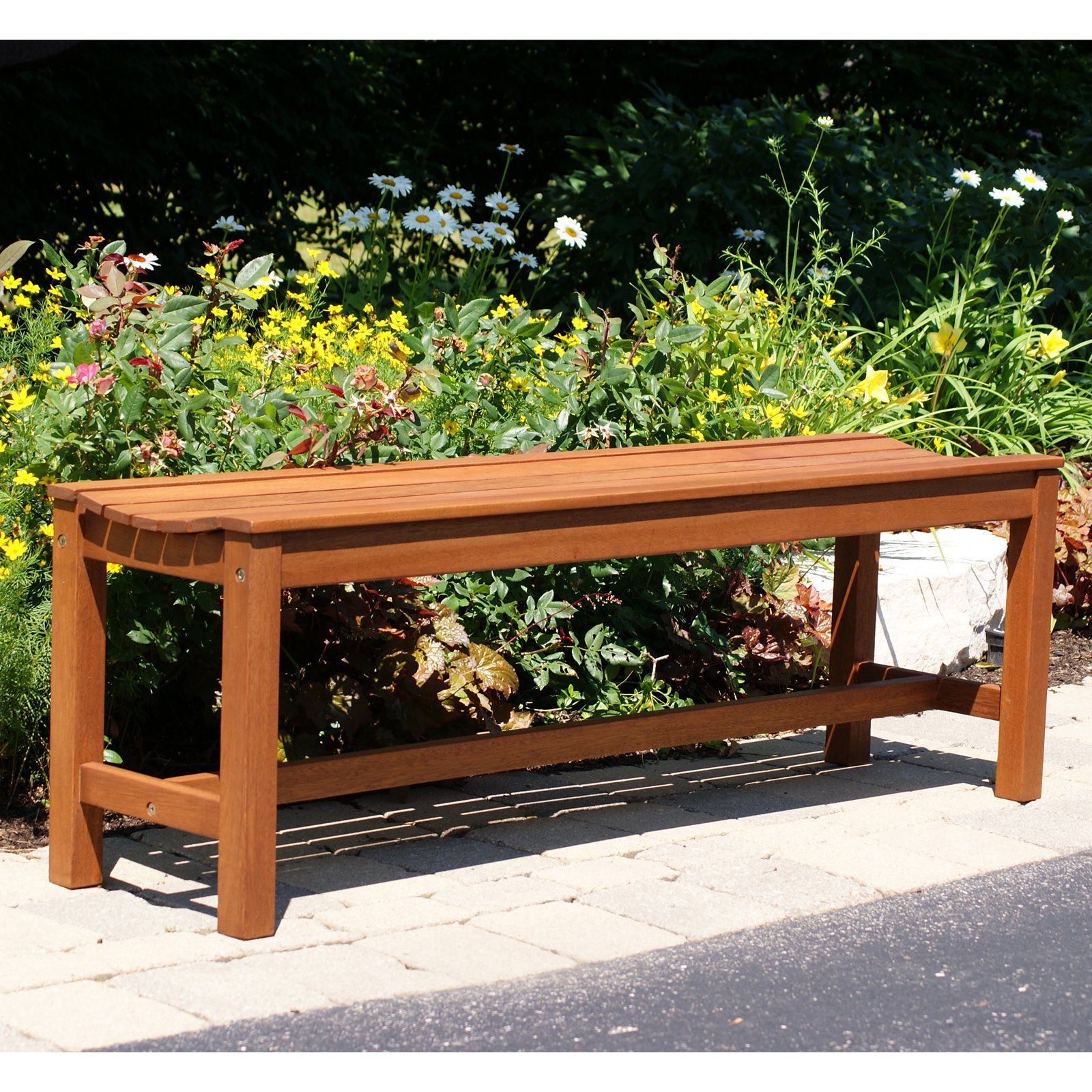 Highwood 4 Weatherly Backless Outdoor Bench Eco Friendly