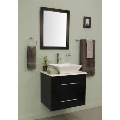 Peachy Decor Living Berto 24 In W X 19 In D Floating Vanity In Download Free Architecture Designs Boapuretrmadebymaigaardcom