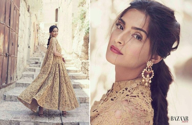 Image result for soanm Harper Bazaar Bride India Photo shoot, 2014