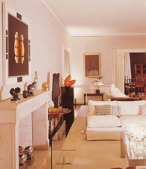 The Designer\u0027s Muse Pale Pink Calm Living Rooms Pinterest