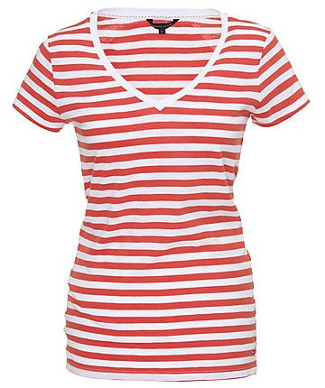 791530784db08e Tommy Hilfiger T-Shirt  t-shirt  stripes www.fashion.engelhorn.de ...