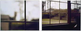 Uta Barth    Untitled (nw 9) from nowhere near  1999  Diptych, Framed color photographs, Edition of 4  Each: 35 x 44 inches  Overall: 35 x 90 inches