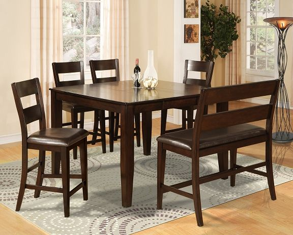 Nicki Casual Dining Collection  Furniturecounter Height Inspiration The Room Place Dining Room Sets Decorating Design