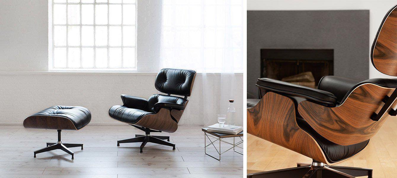 Vitra Lounge Chair Replica vitra lounge chair & ottoman | lounge chair, blue chairs