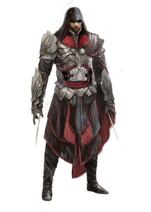 Ezio Concept Art Assassins Creed Assassin S Creed Brotherhood