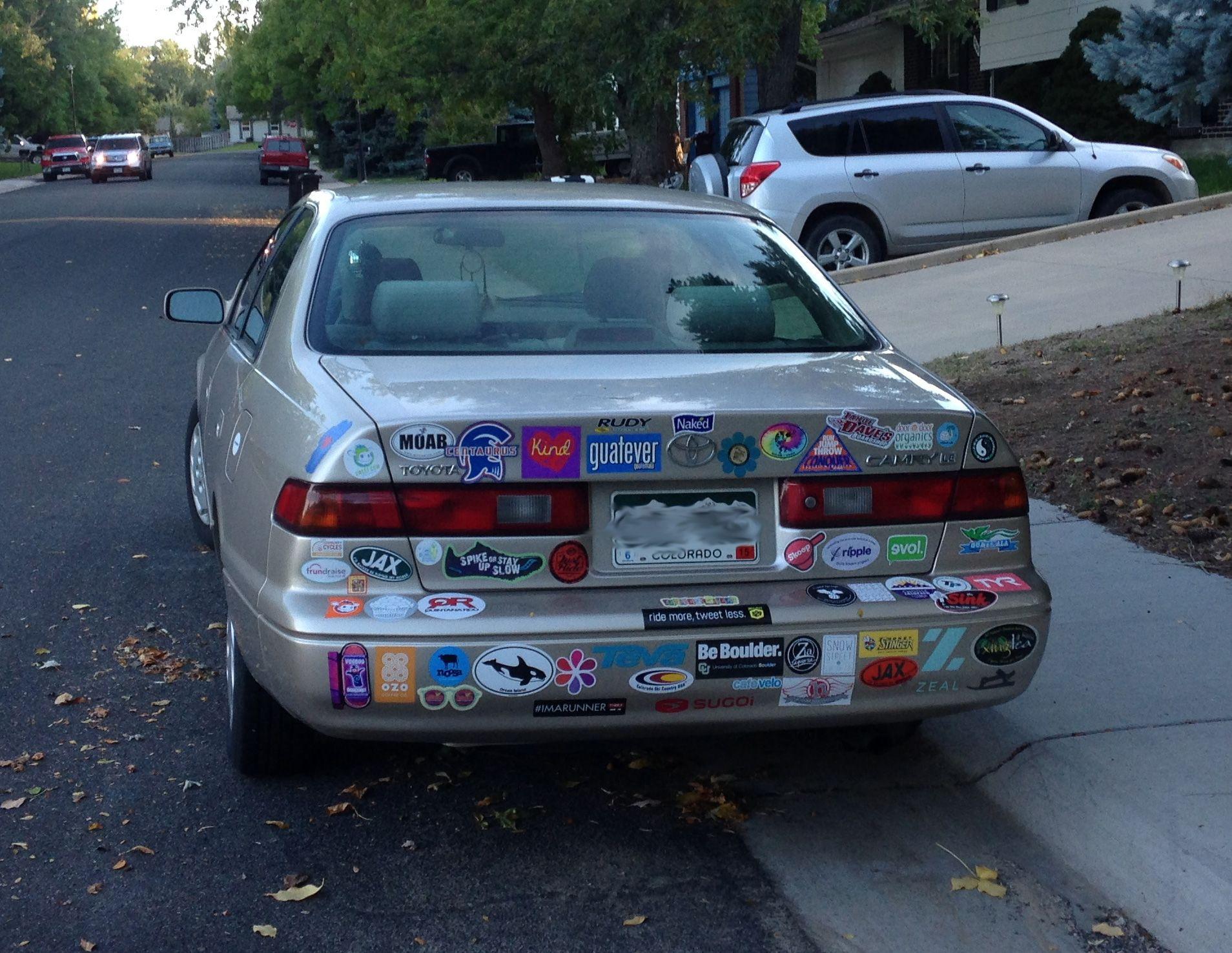 Bumper sticker design tips - Be Boulder Bumper Sticker In Boulder Colorado Cuboulder