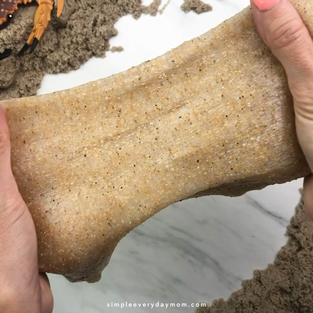 How To Make Sand Slime Without Borax