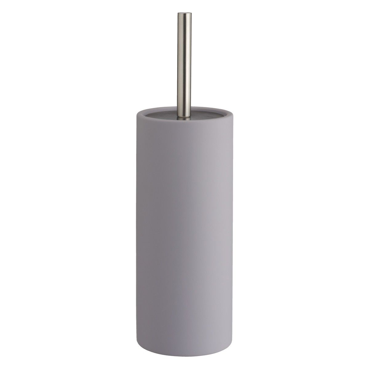 Lima Grey Soft Touch Toilet Brush And Holder Toilet Brushes And Holders Grey Toilet Toilet Brush