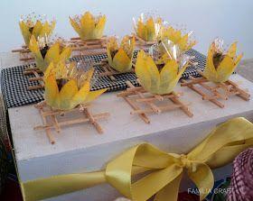 Família Craft: Festa de aniversário - Tema Arraiá - Parte 1