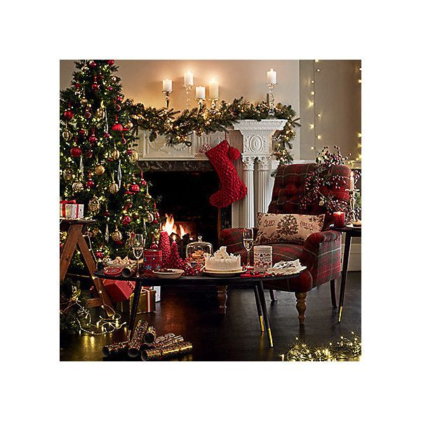 CHRISTMAS ❤ liked on Polyvore featuring home, home decor, holiday