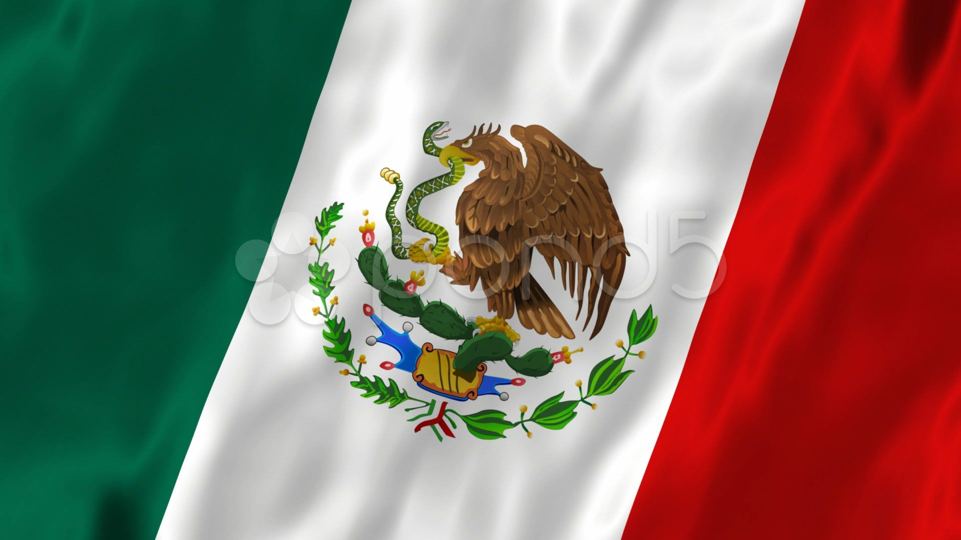 Flag of Mexico HD 1080p Wallpaper Mexico flag, 1080p