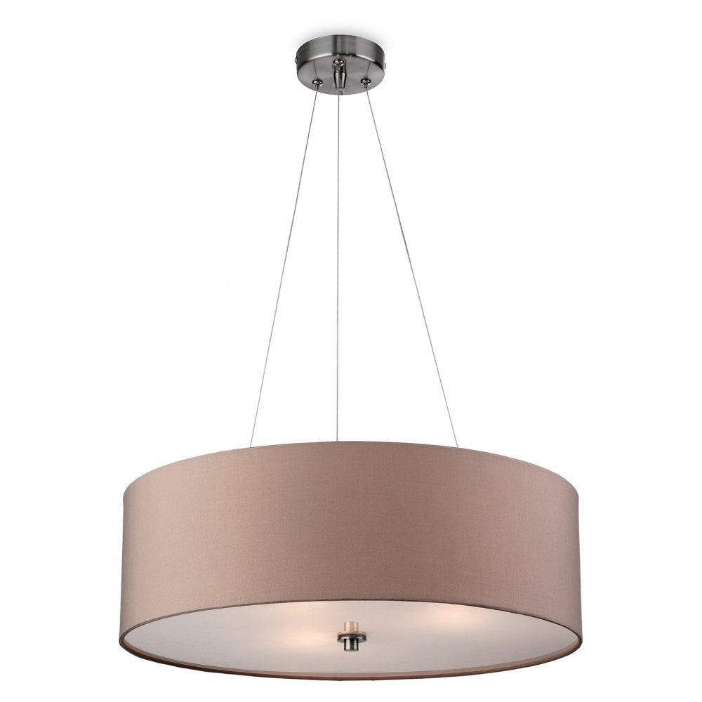 70 47cm dia firstlight phoenix 3 light ceiling pendant with a 70 47cm dia firstlight phoenix 3 light ceiling pendant with a taupe coloured aloadofball Image collections