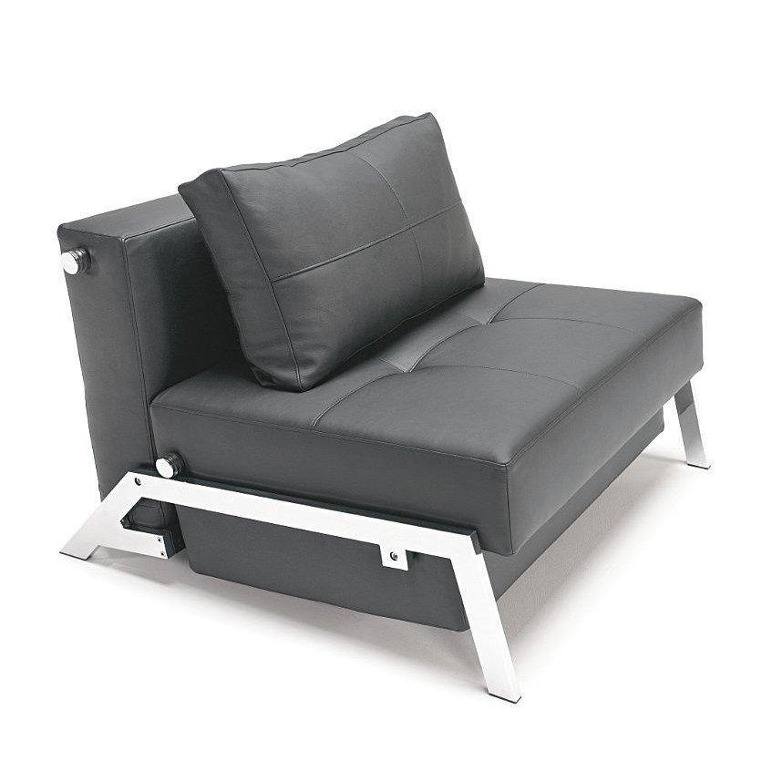 Innovation Cubed 90 Sessel Schlafsessel Lt Schwarz Gestell