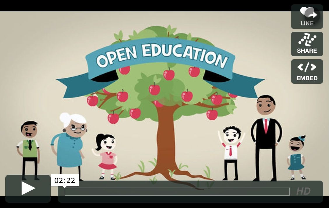Open Education Creative Commons Open Education Education Week Education