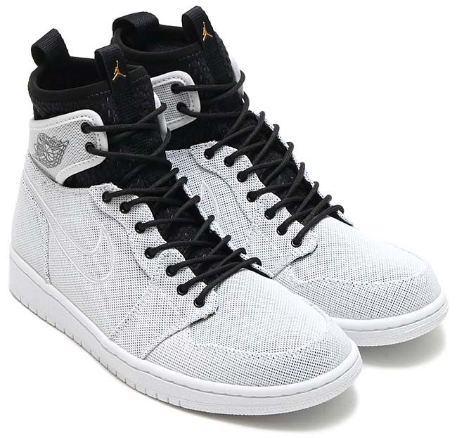 super popular beab3 d1556 NIKE AIR JORDAN 1 RETRO ULTRA HIGH  WHITE   METALLIC GOLD COIN-BLACK-PURE  PLATINUM-INFRARED 23  844700-132