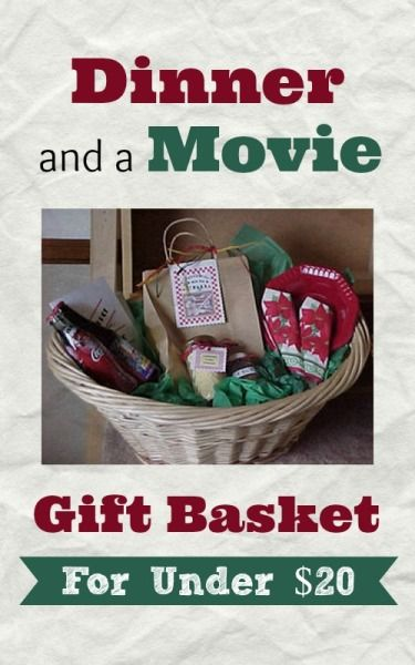 Dinner And A Movie Gift Basket Everything In Its Place