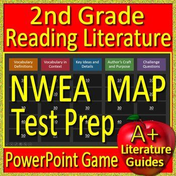 2nd grade nwea map test prep reading literature and vocabulary game 2nd grade nwea map test prep reading literature and vocabulary game rit 171 200 fandeluxe Gallery