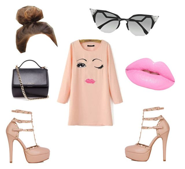 """pink lady"" by popalah ❤ liked on Polyvore"
