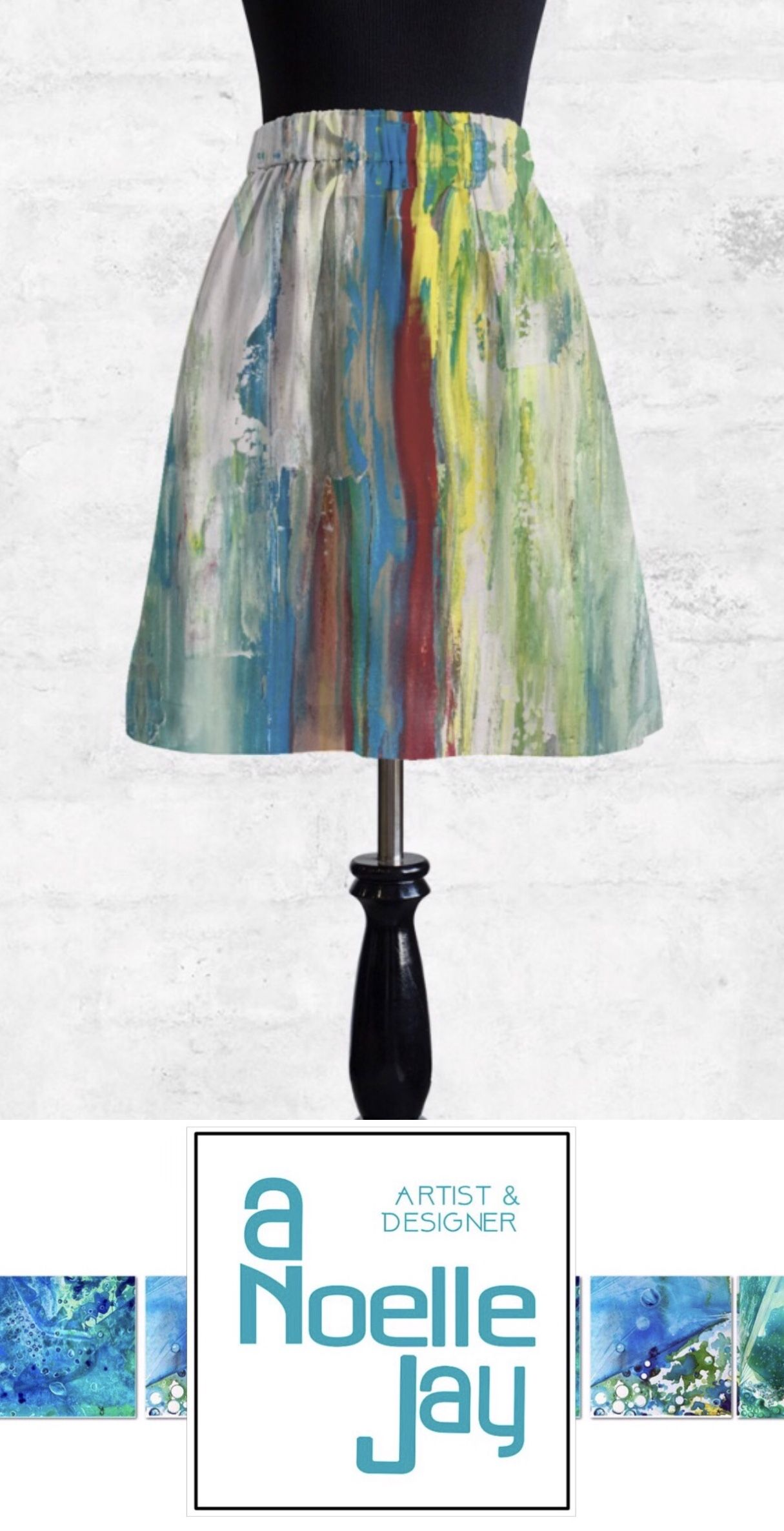 Pick A Best Cheap Price Cupro Skirt - over the rainbow by VIDA VIDA 100% Authentic Cheap Online Clearance Choice Discount Latest Collections qlwfz3ghuB