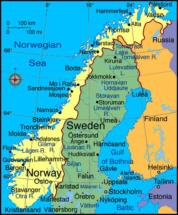 Norway Norway Map Sweden Travel Norway Sweden Finland
