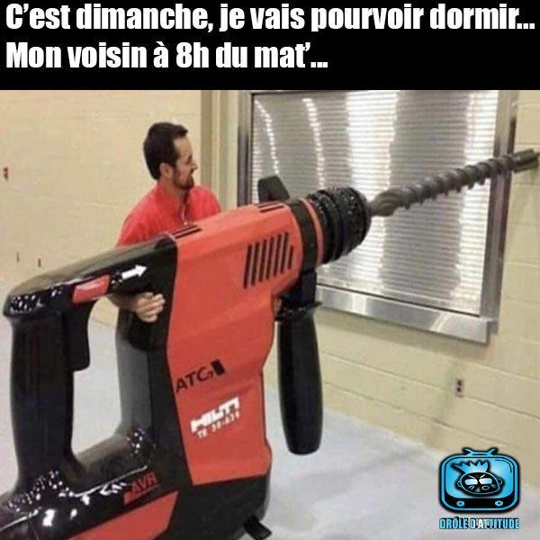 Nos chers voisins...😂 #rire #drôle #blague #humour #mdr #rigolo #insolite #photo #images # ...