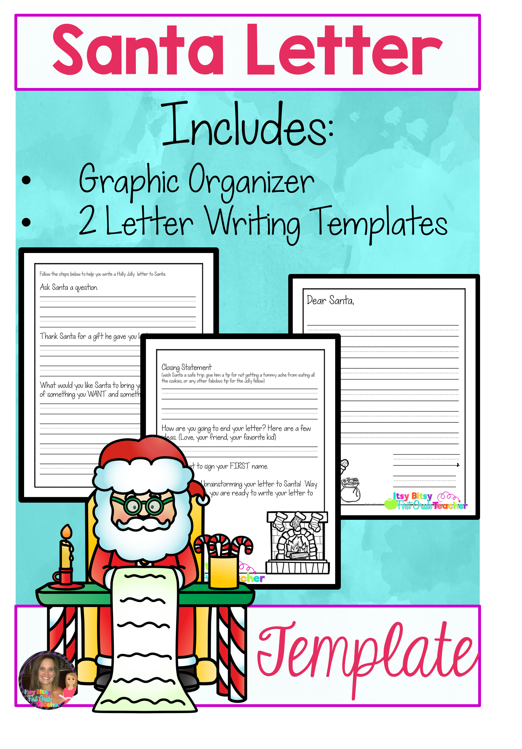 Dear Santa  Writing Santa Letters Can Be Overwhelming For