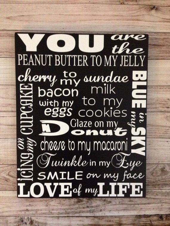 5th Anniversary Gift Love of My Life Wood Sign by