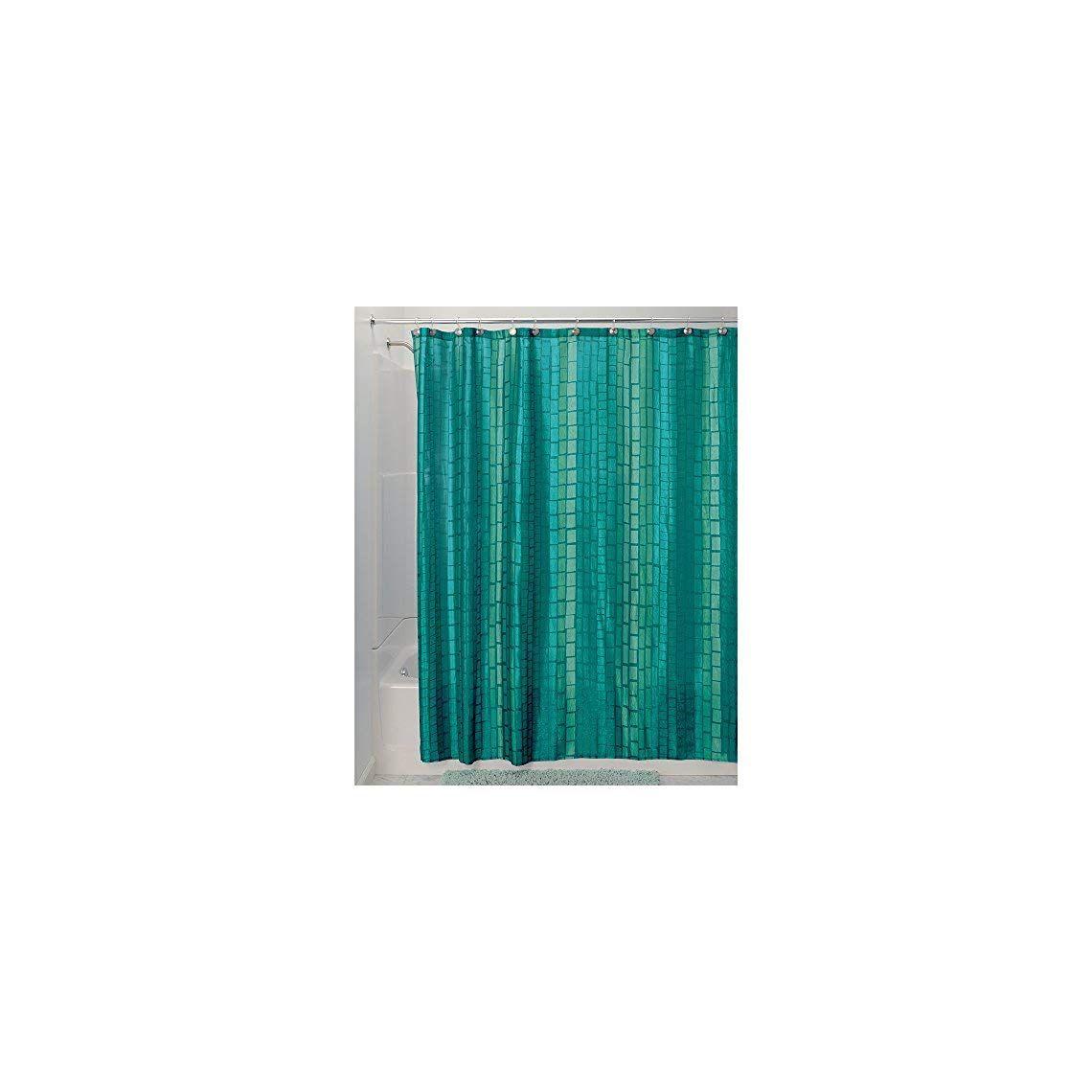 Interdesign Moxi Fabric Shower Curtain Shower Curtains