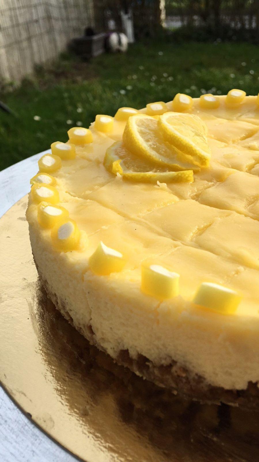 Cheesecake lemon curd spéculos | Gâteaux et desserts ...