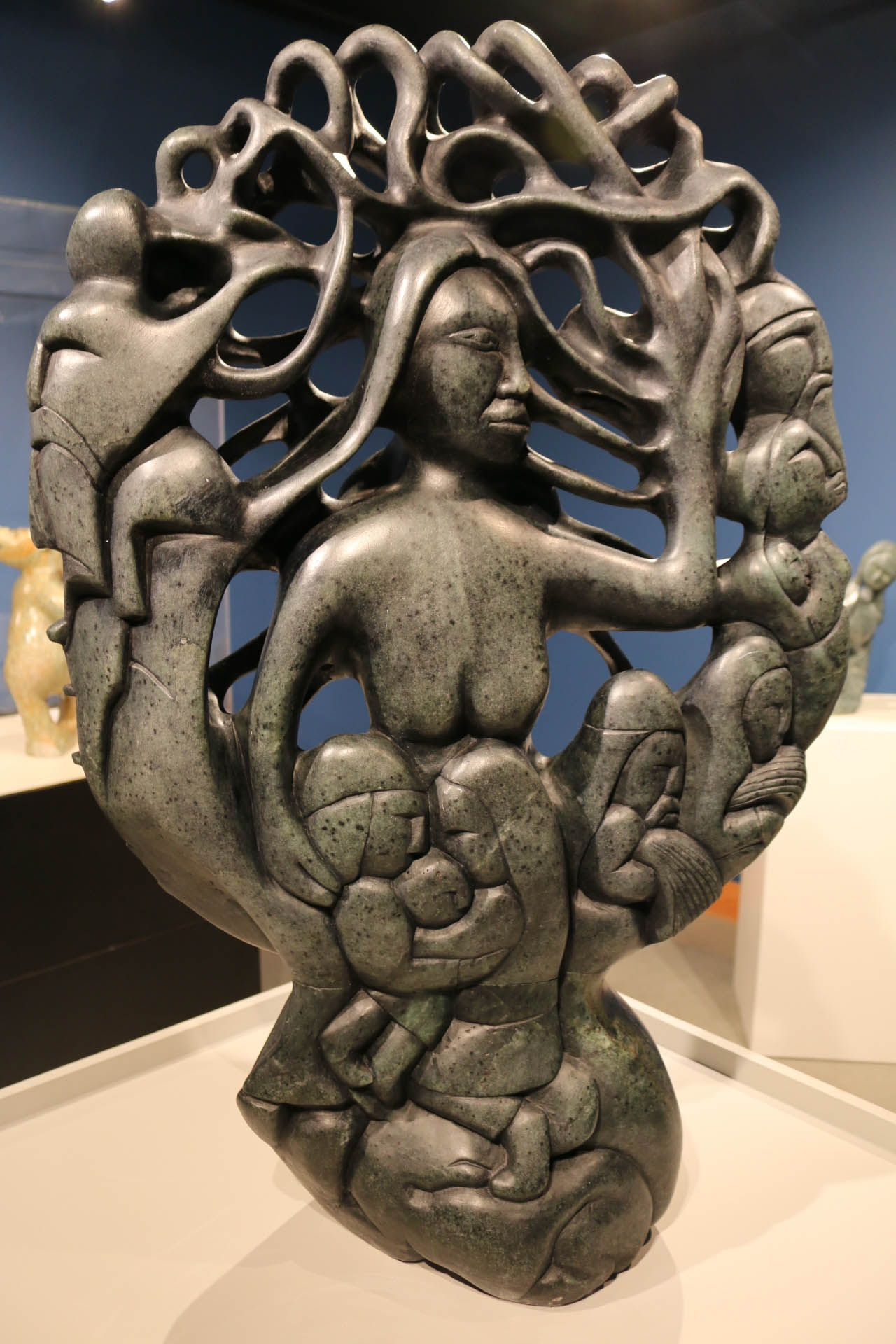 Freya this sculpture represents the viking goddess freya who freya this sculpture represents the viking goddess freya who symbolized family fertility springtime biocorpaavc