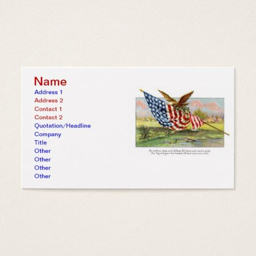 shop business card created by sbwinters - Military Business Cards