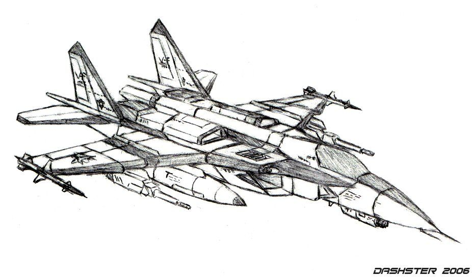 pencil drawings of fighter jets - Google Search | Stuff to Draw ...